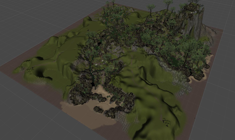 level design black island